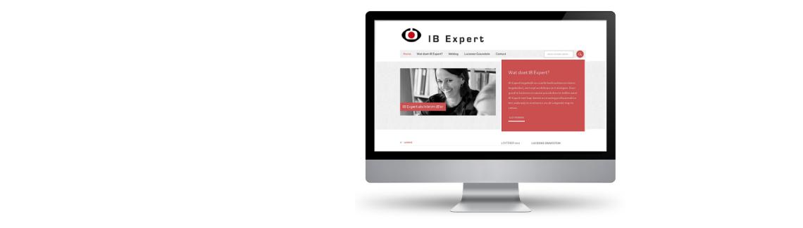 wordpress website voor ibexpert.nl