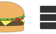 hamburger menu website