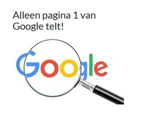 pagina 1 google seo optimalisatie